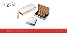 Elegant cigar case for the connoisseur |  BOX PLAIN MEDIUM is an EPISODE Sterling Silver 925 product, defining royalty at all ends. | +91-7308363621 | Chat Now - https://tawk.to/chat/56cb7a722a2f03d63a509903/default/?$_tawk_popout=true. Shop Now - https://episodesilver.com/all-category/corporate-gifting/silver-box-plain-medium-detail | #Episode #SilverGifts #SterlingSilver #UniqueGifts