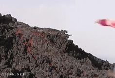 Running on lava (GIF).