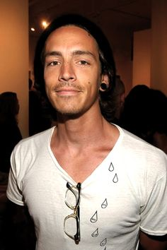 brandon boyd of incubus. What can I say, he is amazing!