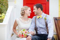 I love her wedding dress! <3