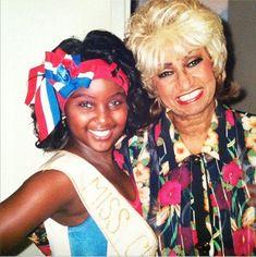 Young Amara La Negra and Celia Cruz Love And Hip, Love N Hip Hop, Black Girl Magic, Black Girls, My Black Is Beautiful, Beautiful People, Mocha, Musica Salsa, Divas