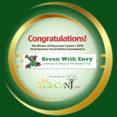 Congratulations to Green With Envy Landscape & Design for winning our 2014 Local Business Social Media March Madness Tournament! Thank you to everyone who voted and to the 32 wonderful businesses that participated! The show of support for each business was outstanding.   For those who provided an email address to enter for prizes & deals from the business teams, the winners will be contacted soon.