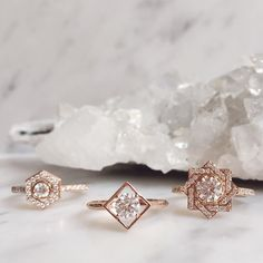 Introducing our new #rosegold engagement wedding and new #zmx collection in celebration of our 10th anniversary. For enquiries about our fine and bespoke collection email us at hello@zoeandmorgan.com or visit us in either our London or Auckland shops  #zoeandmorgan #bespoke #diamonds