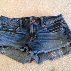 American eagle denim shorts size 2 American eagle size 2 denim shorts American Eagle Outfitters Shorts Jean Shorts