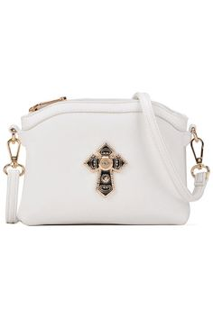 Icon Solid PU Shoulder Bags