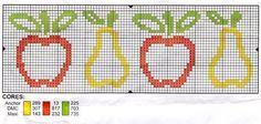 Apple & Pear (Outline) Border
