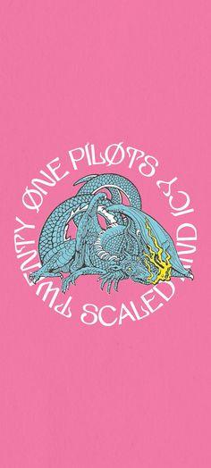 Twenty One Pilots Logo, Twenty One Pilots Aesthetic, Good Vibes Wallpaper, Twenty One Pilots Wallpaper, Tyler Joseph Josh Dun, Stunning Wallpapers, Album Covers, Aesthetic Wallpapers, The Twenties