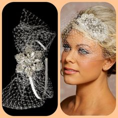 Need to find a bird cage veil headband!
