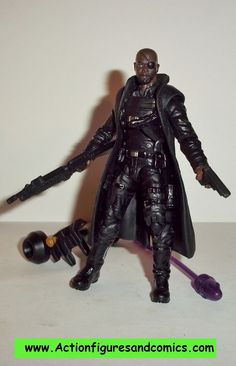 marvel universe NICK FURY assault squad avengers movie hasbro 3.75 inch action figures complete