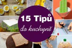15 tipů do kuchyně