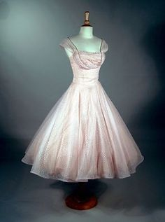 True Rare Vintage 1950s 1960s Classic Evening Party Prom Long Dress