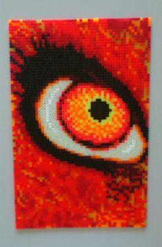 HAMA Beads - Orange Eye