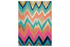 Abstract chevron... Might have to try this at home! :)