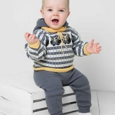Viking Baby, Barn, Felt, Pullover, Shorts, Knitting, Crochet, Sweaters, Design
