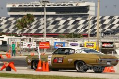 """At @DriveUSCA Daytona Kyle Tucker of Detroit Speed claimed 1st overall in the 3,000 lb. class and punching his ticket to the Optima Ultimate Street Car Invitational in Nevada at the end of the year.  Kyle wasn't the only one making waves at the notorious """"high banks"""" of Daytona International Speedway. Ryan Mathews claimed 2nd place in the Autocross Challenge and 3rd place in the @BFGoodrichTires Hot Lap Challenge in the 3,000 lb. class driving the DSE 2012 White Monster #Camaro."""