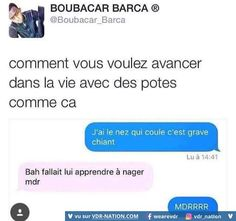 Abonne-toi aussi à tu vas rire - Funny Sms, Funny Jokes, 9gag Funny, Accounting Humor, Funny Animal Quotes, Hilarious Animals, Best Tweets, Image Fun, Funny Tumblr Posts