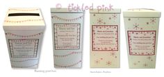 lots of our designs being made as #wedding #postbox at the moment :-) www.wearetickledpink.co.uk