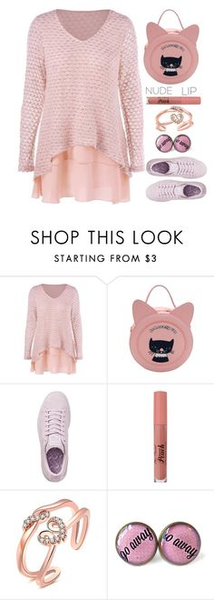 """""""The perfect nude lip"""" by simona-altobelli ❤ liked on Polyvore featuring Puma"""