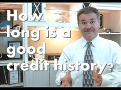 How long is a good credit history?