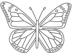 Kelebek boyama resimleri - Hayvan Boyama Resimleri