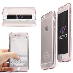 Apple iPhone 6 Plus / 6s Plus Handyhülle von Original Urcover® in der TPU Ultra Slim 360 Grad Edition iPhone 6 + / 6s Plus Schutzhülle Case Cover Etui Rosa [DEUTSCHER FACHHANDEL] 6,90€