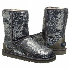 UGG Women's Classic Short Sparkles Boot $170.96 With Free Shipping 10 % OFF price may vary