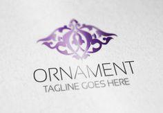 Ornament Logo by Samedia Co. on Creative Market