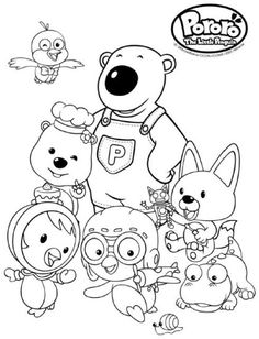 Coloring Pages The Octonauts Drawing | Coloring pages for ...