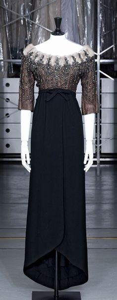 Cristobal Balenciaga, Evening Dress, Fall-Winter, 1958, Palais Galliera, Paris