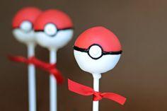 Pokéball Cake Pops | 49 Coolest Pokémon Items On Etsy