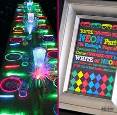 Festa Neon - Debuteen - O Blog da Debutante Glow Party, Youre Invited, Sweet 16, Rsvp, Party Time, Invitations, Diy, Wedding, Blog