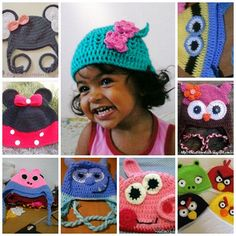 lindas toucas personalizadas você encontra no site www.crocheprabebevendas.com.br