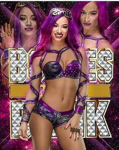 Sasha Banks Sasha Banks Theme, Wwe Sasha Banks, Wrestling Stars, Wrestling Divas, Wwe Female Wrestlers, Kana Wrestler, Black Wrestlers, Aj Styles Wwe, Wwe Girls