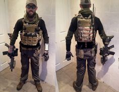 Light PMC Loadout. This would be great for CQB