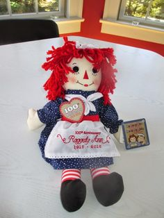 The Grandma Chronicles: Raggedy Ann Dolls - A Great Story and Giveaway Small Victories, Toy Display, Raggedy Ann, Great Stories, Old And New, Fun Things, Giveaways, Sunday, Anniversary