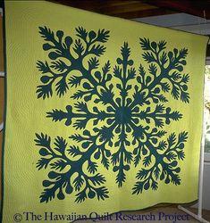 Antique Hawaiian Quilt