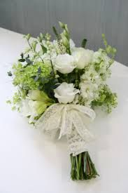 Image result for white freesia and bridesmaid colours