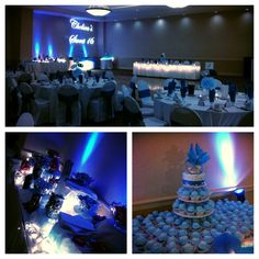 Chelsea's Sweet 16 4/12/14 #sweet16 #partyideas #cupcaketower #candybuffet #uplighting