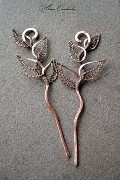 Copper, hair clip, hair pin, hair slide, wire, barrette, metal ...