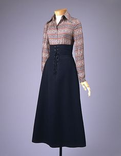 Suit  Anne Klein  (American, 1923–1974)  Design House: Anne Klein and Company (American, founded 1965) Date: 1970
