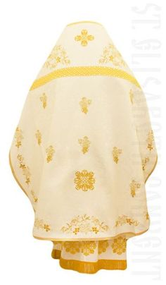 Russian Style Priest Vestment with Grapevine Embroidery. $480.00 Catalog of St Elisabeth Convent #vestments  #OrthodoxVestments #ordervestments #buyvestments  #sewingworkshop #priest #churchvestment #phelonion