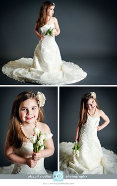 Pictures of my daughter Lilee playing dress up in my wedding gown. Thanks to the wonderful imagination and talents of Ashley Pizzuti of Pizzuti Studios Photography!!