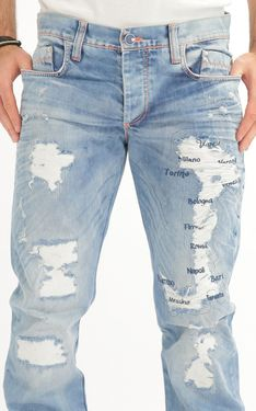 Looking for Men's Designer Jeans? Cipo & Baxx has the latest styles of Men's Ripped Jeans in Australia. Shop now on our online store! Ripped Jeans, Denim Shorts, Edgy Look, Shop Now, Pants, Shopping, Design, Style, Fashion