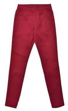 Värikkäät housut yhdistyvät kauniisti myös maanläheisten värien kanssa. Kokeile yhdistää Punaiset housut harmaan kanssa. 19,95€
