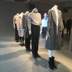 5a159e215cac Burberry s Spring 2017 collection inspired by Henry Moore at Makers House.  February 2017 Henry Moore