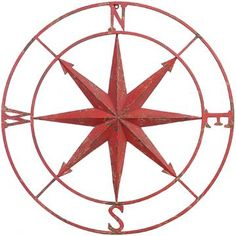 Nautical Wall Compass / Compass Rose / Metal by Theshabbyshak ...