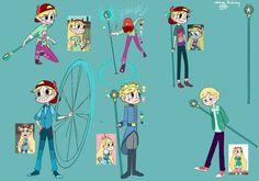 Genderbent star