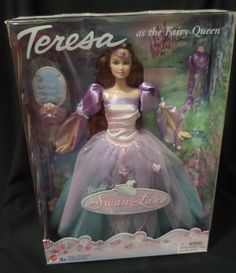 Swan Lake Teresa as the Fairy Queen Ballerina Mattel B2785 Red Hair New MINT! #Barbie #DollswithClothingAccessories