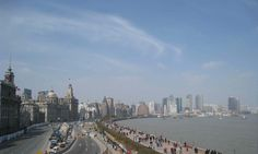 The Bund is located in the Shanghai downtown along the Huangpu River. The Bund is an important attraction in Shanghai that no one will miss it. Shanghai Attractions, The Bund, San Francisco Skyline, New York Skyline, River, Rivers