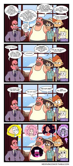 Steven Universe: The Hot One xD<<<I love how confused Greg looks like, but rose.. isn't around anymore...